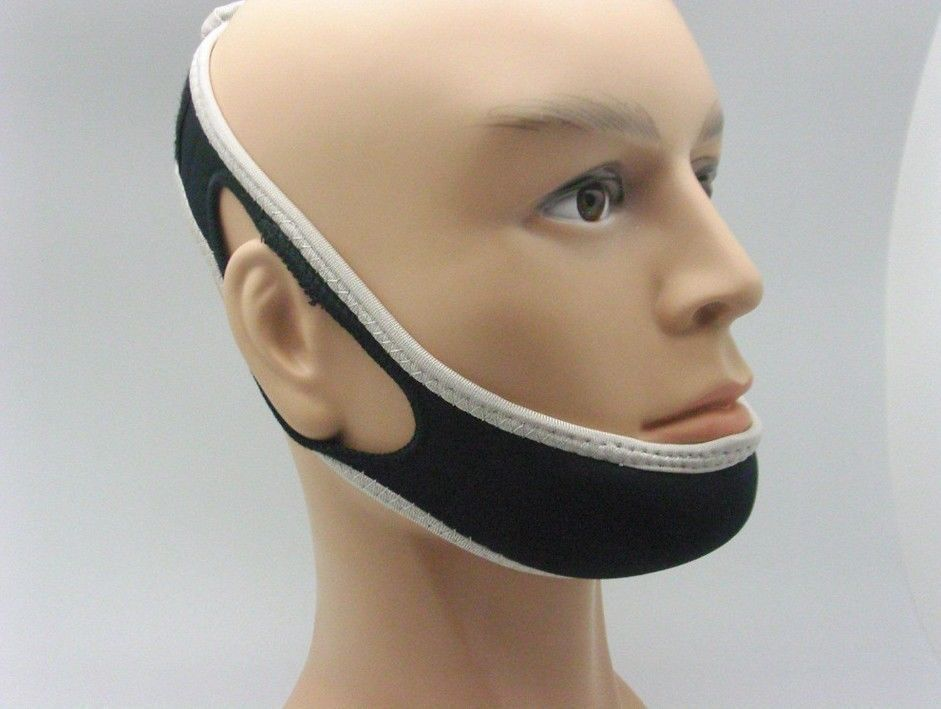 Photo of Anti  Stop Snoring Face Chin Strap Device Belt Apnea Jaw TMJ…