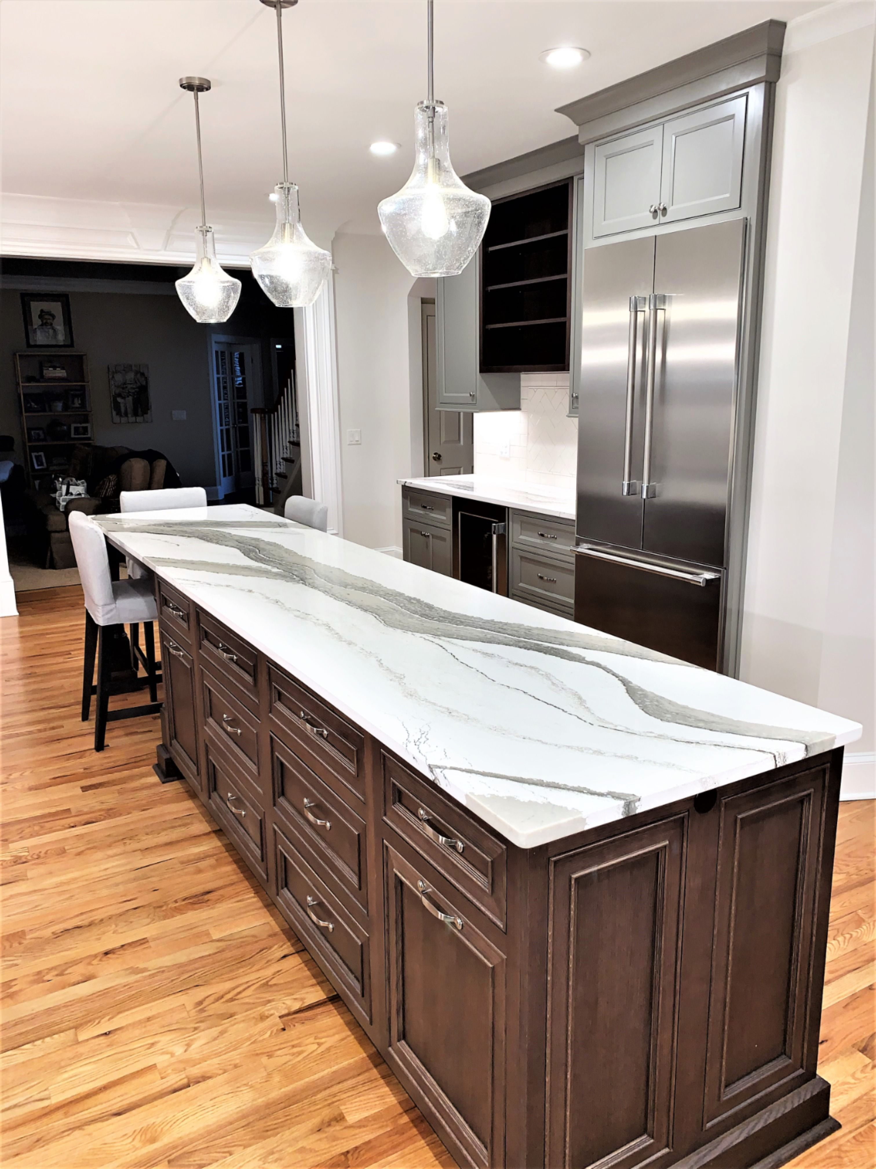 Extra Long Kitchen Island Dining Room Design Kitchen Remodel Small Kitchen Design Small