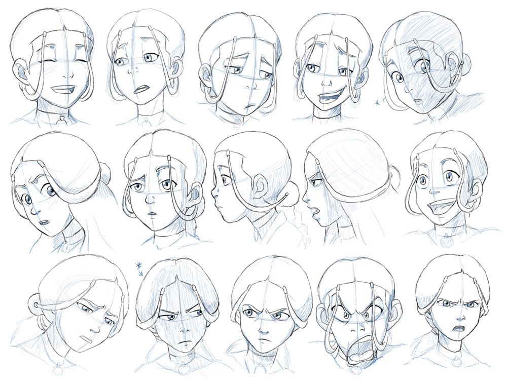 It's really cool different angles and expressions i love