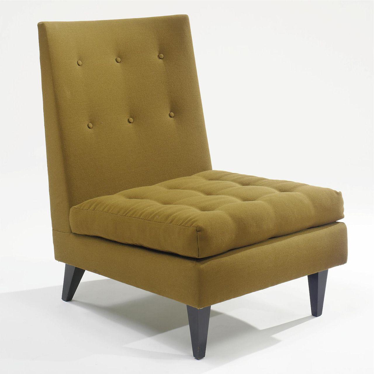 Joaquim Tenreiro Low lounge chair Dimensions 32 ½ in