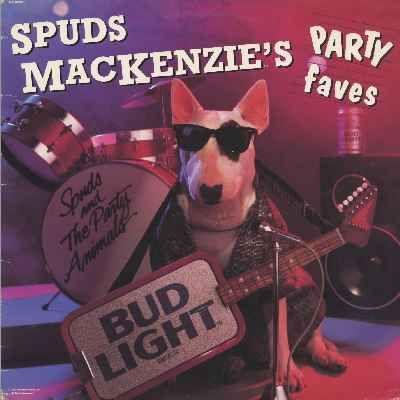 Spuds MacKenzie... the original party dog.