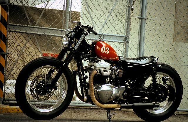 Garage Project Motorcycles Kawasaki W650 Custom Bobber By An Bu