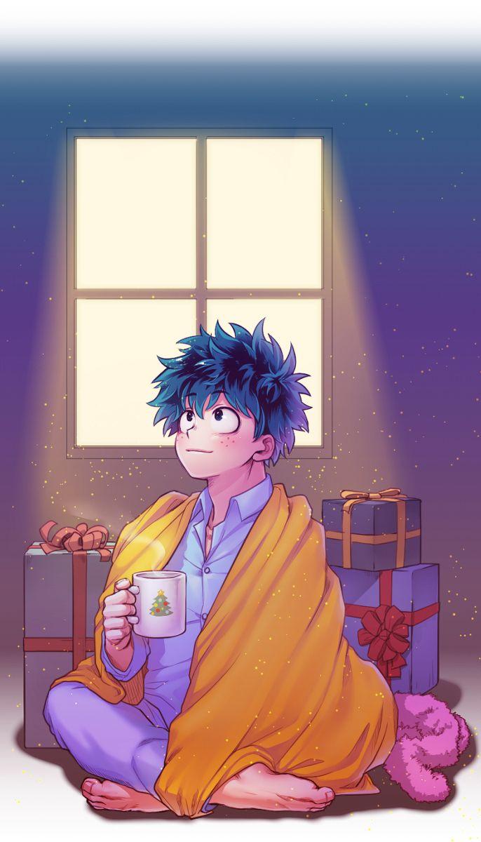 Boku No Hero Academia Midoriya Izuku Anime Christmas Deku Boku No Hero Hero