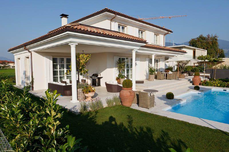 Villa in mediterranem baustil in dornbirn vorarlberg for Garten pool vorarlberg
