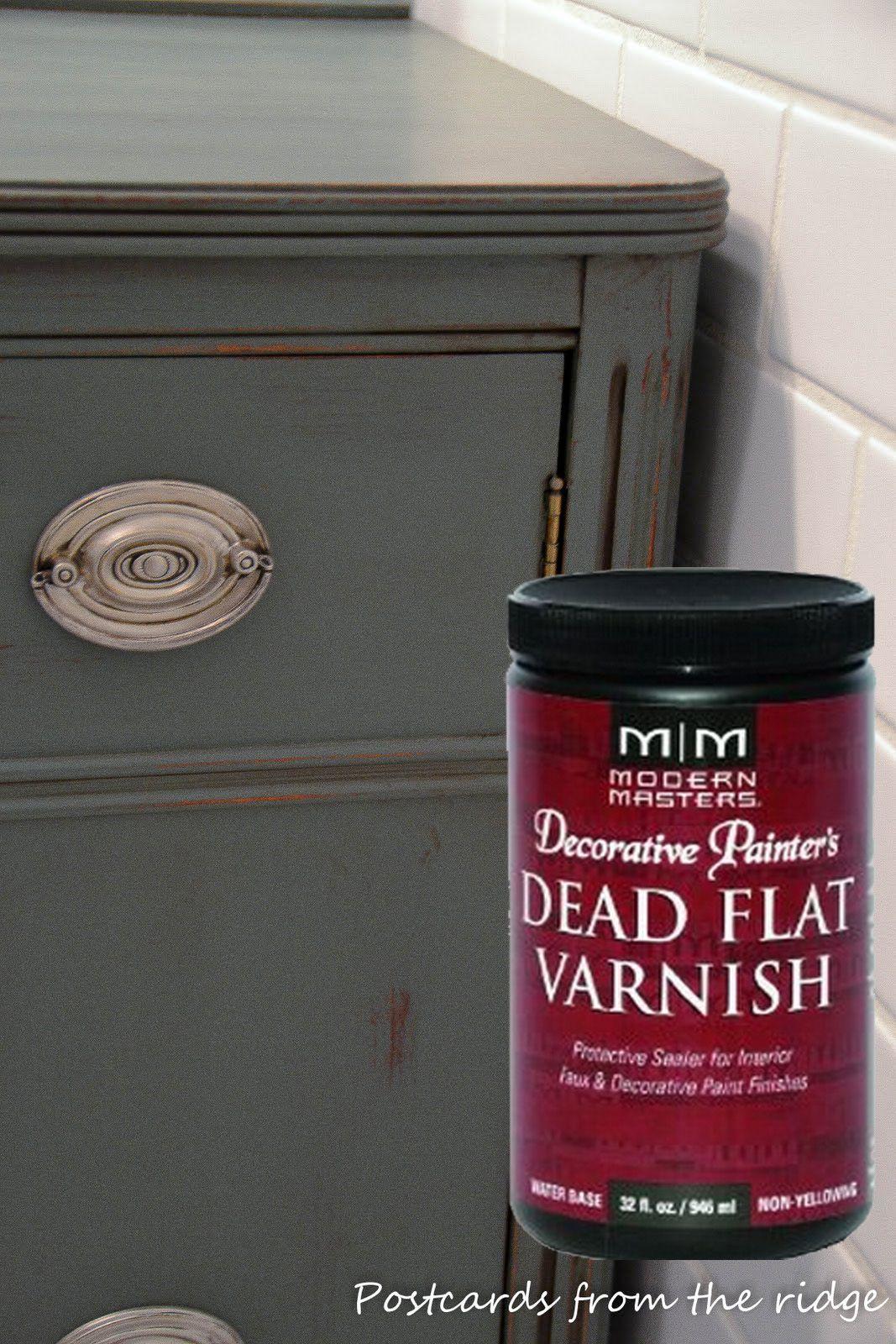 Painting Sealer Modern Masters Dead Flat Varnish