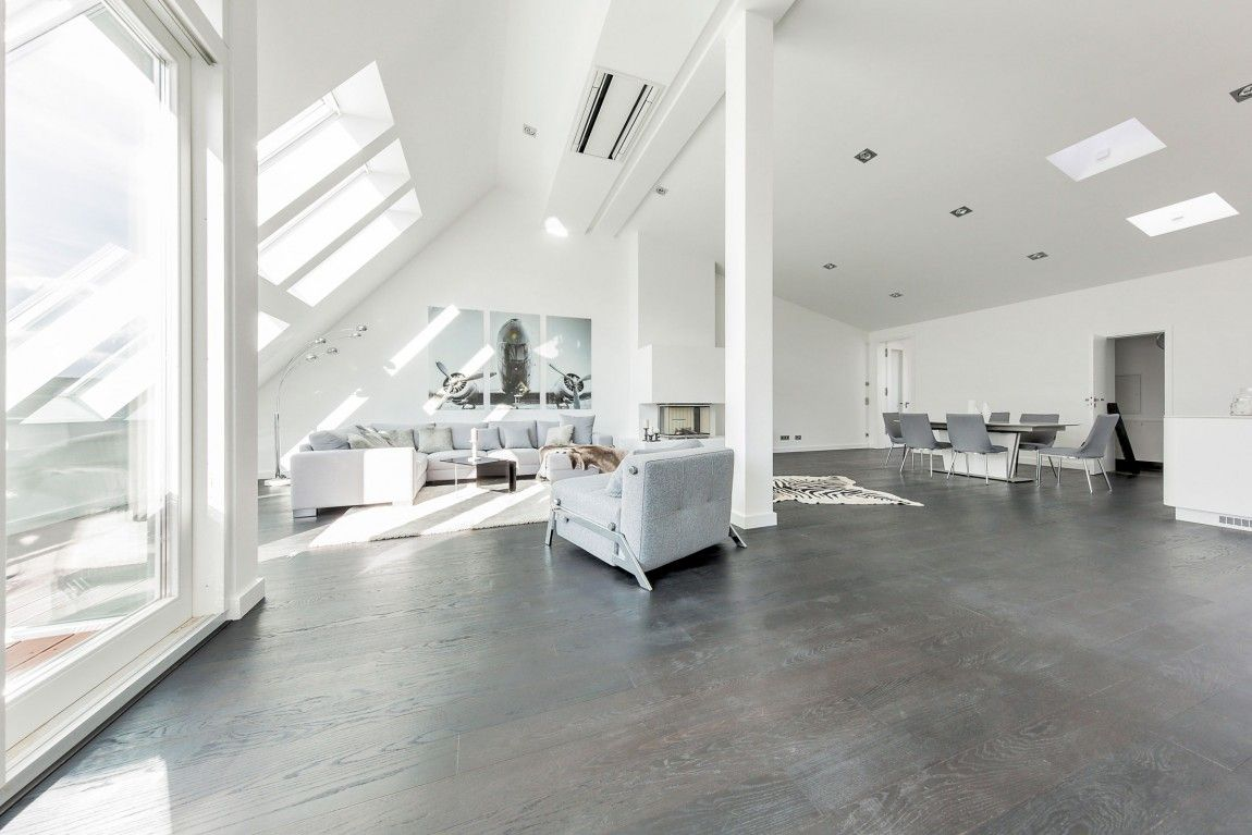 Luminous Contemporary Apartment For Sale in Berlin | Attic, Flats ...