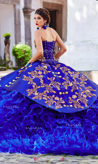 Ruffle Charro Quinceañera Dress By Ragazza En 2019