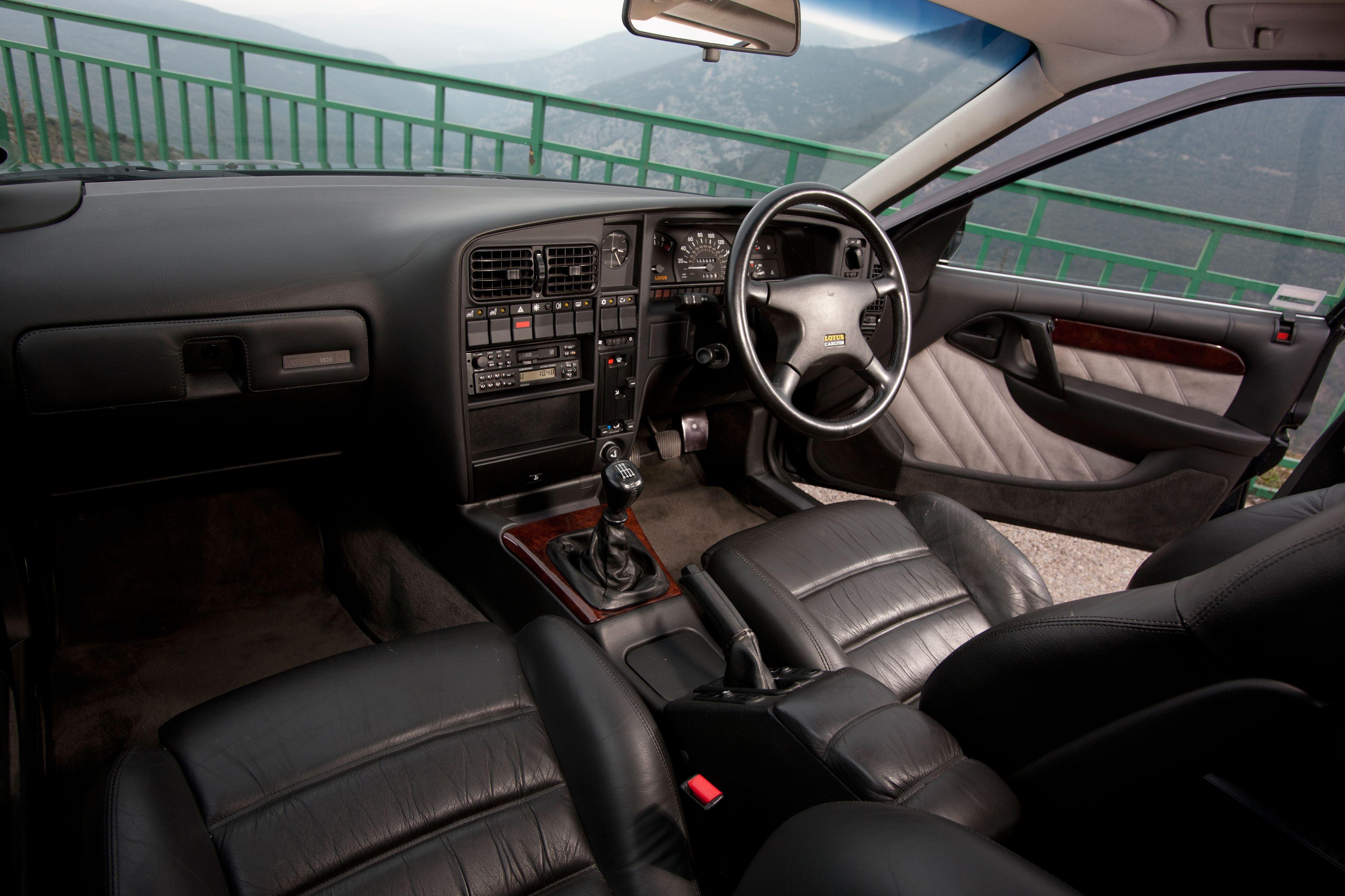 1990 Vauxhall Lotus Carlton Vauxhall Opel Car Interior