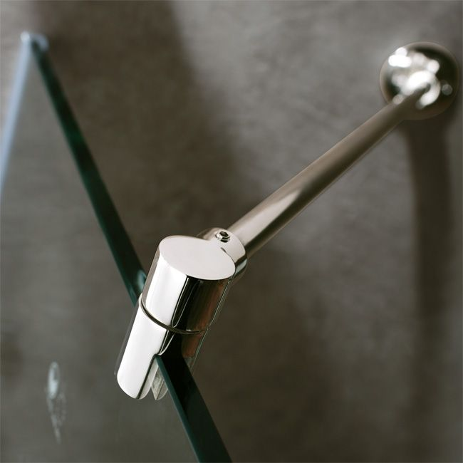 Vigo Frameless Wall Support | Home Features to add | Pinterest ...