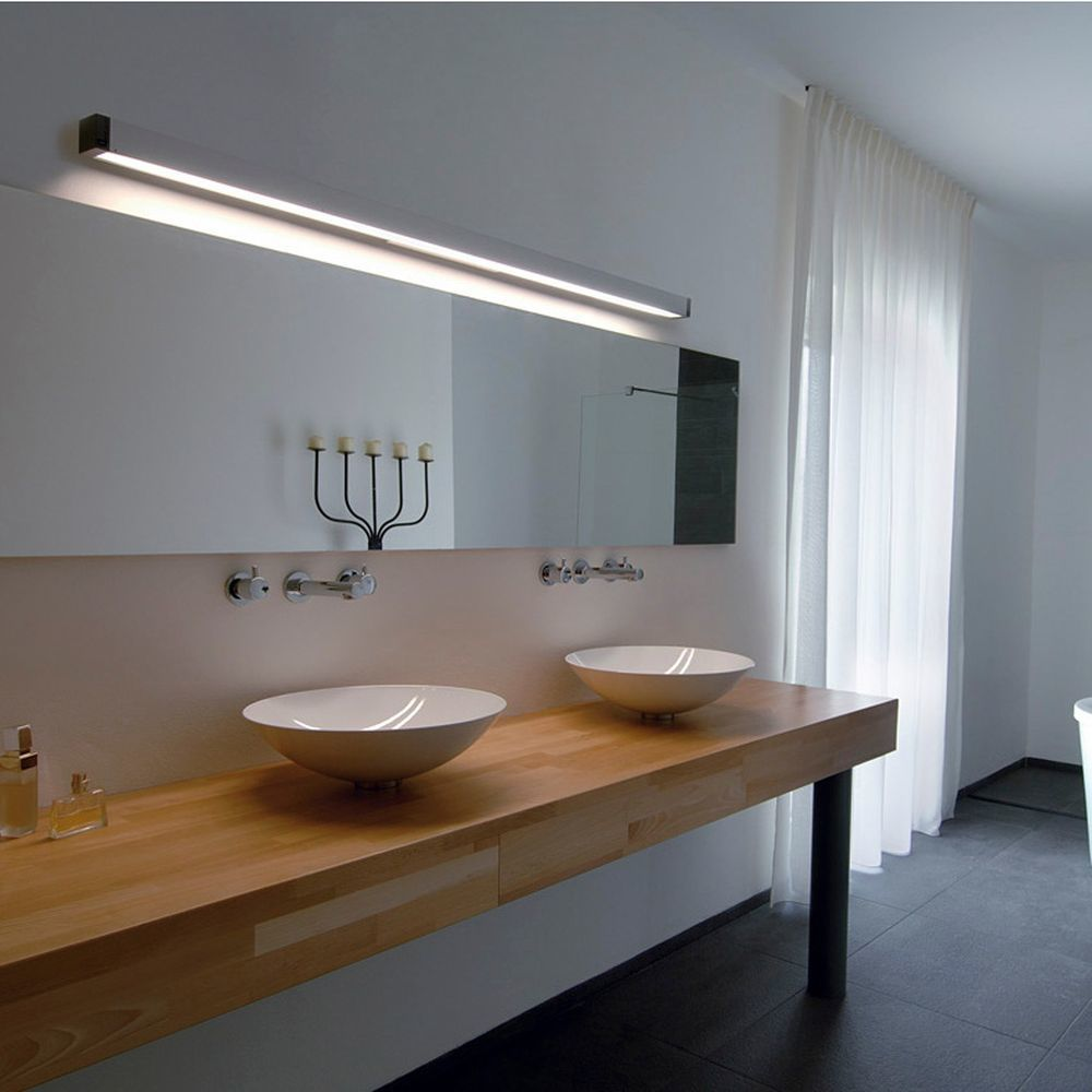 Wandleuchte Q Line G5 Aluminium Slv 0155002 Click Licht De Wandleucht Badezimmer Spiegelschrank Mit Beleuchtung Lampe Badezimmer Bad Spiegel Beleuchtung