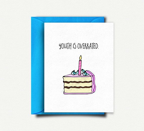 Funny Birthday Card Handmade 30th Best Friend Old 40th For Mom Dad Mum