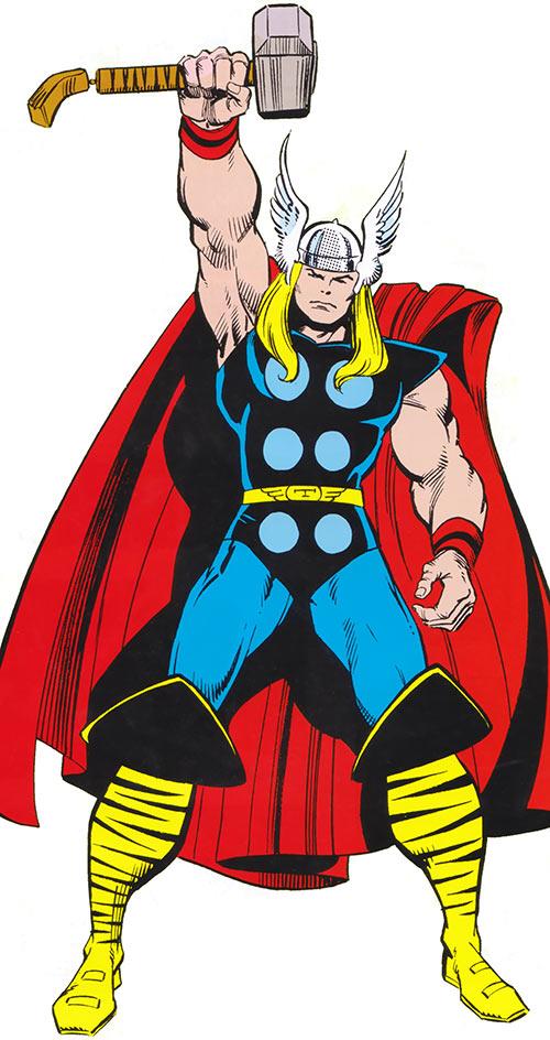 Thor Marvel Comics Avengers Simonson Era Thunder God Drawing Superheroes Marvel Thor Thor Comic Art