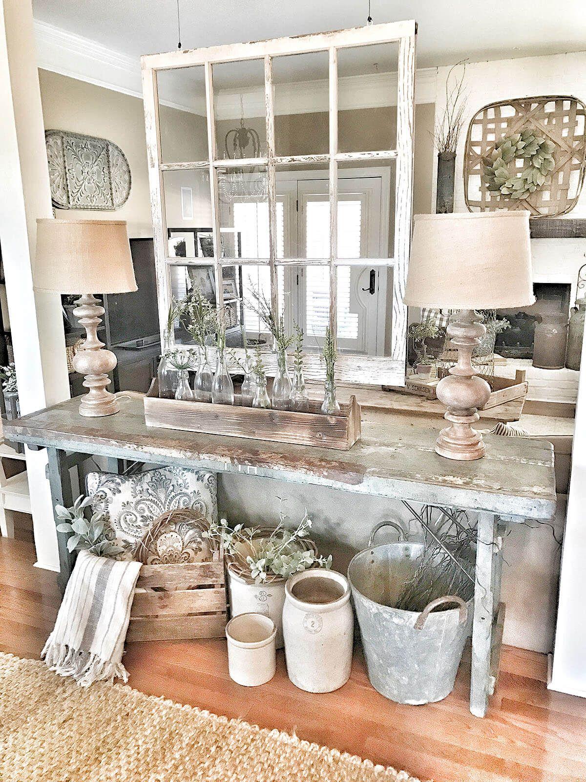 Sofa table decor - Farming
