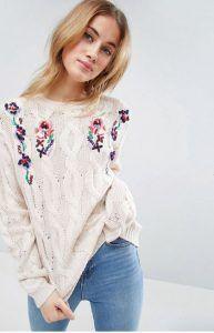 Jersey estampado floral Image