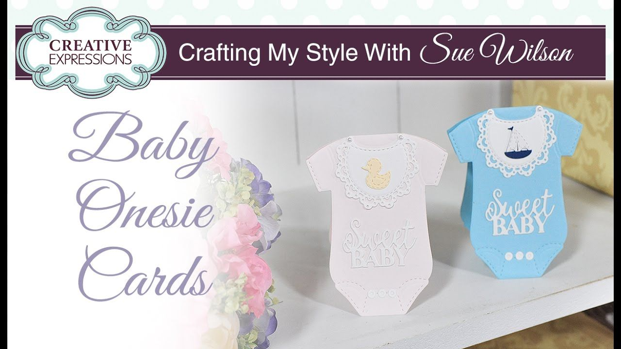 baby onesie card tutorial  crafting my style with sue