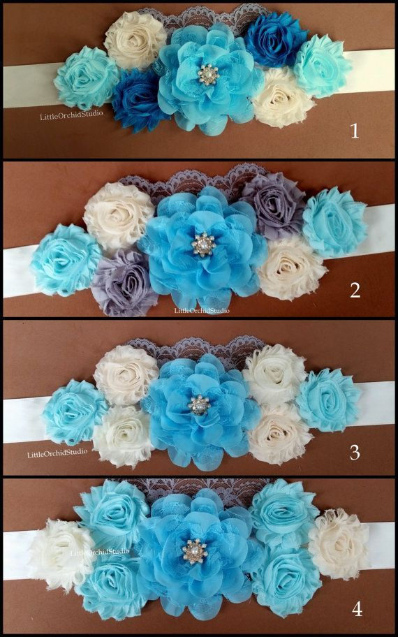 Lovely Baby Shower Corsage Pictures Part - 9: Resultado De Imagen Para Baby Shower Belly Band Tutorial