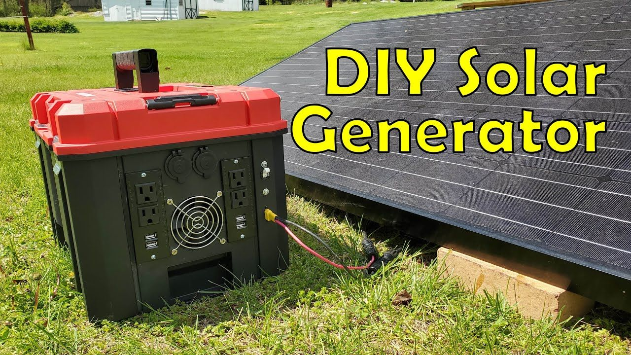 Building a 35kwh diy solar generator for 650 start to