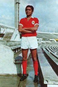 Rui Rodrigues no Estádio da Luz, 1971/72.