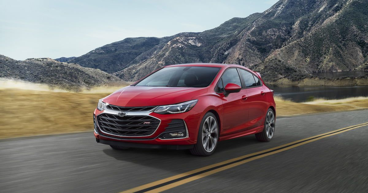 2019 Chevrolet Malibu Cruze And Spark Get Updated Styling