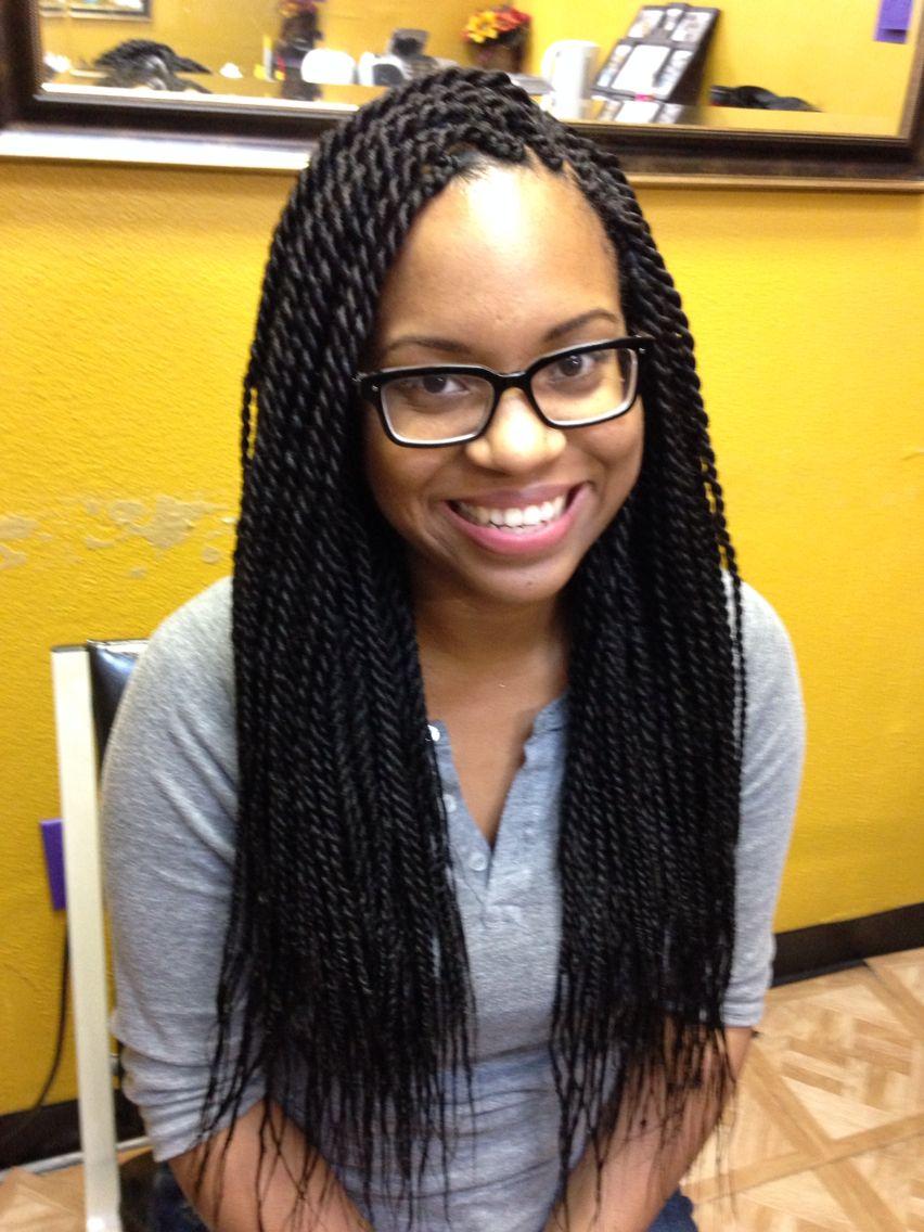 Senegalese Twist Natural Hair Style Braids Braids Hair Styles