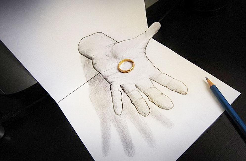 Oltre 1000 idee su Dibujos En 3d Faciles su Pinterest