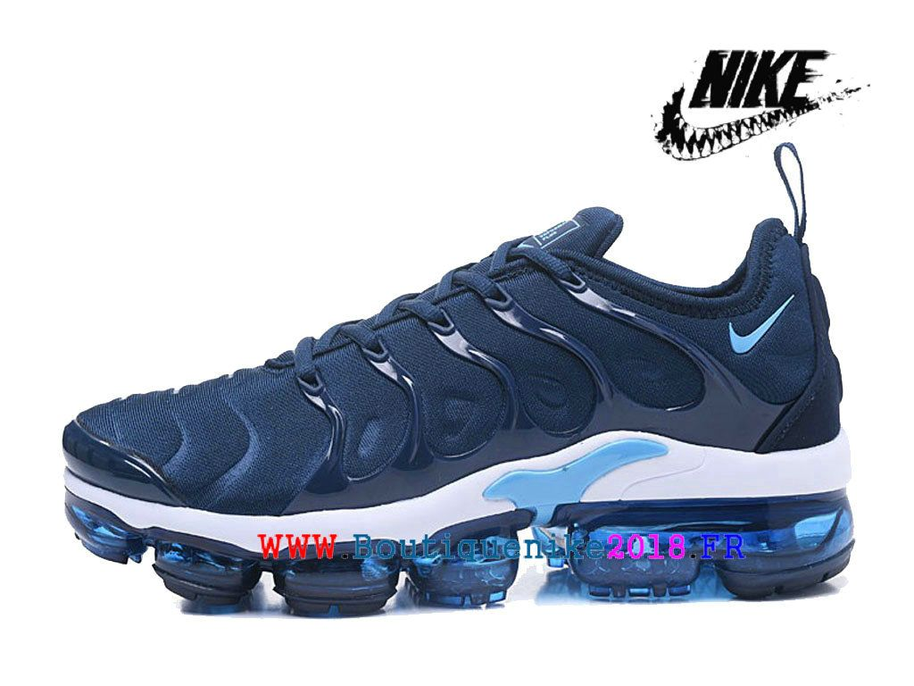 the latest 457b0 34004 Nike Air VaporMax Plus AO4550-ID10 Chaussures Nike TN Officiel Pas Cher  Pour Homme Bleu Blanc-Nike Boutique de Chaussure Baskets Site Officiel ...