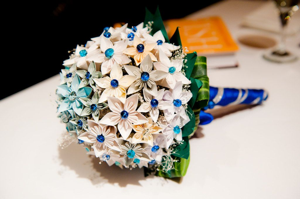 wedding paper bouquet