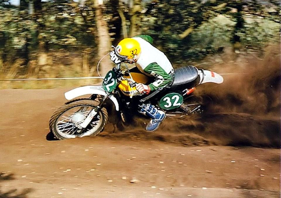 Harry Everts Puch 250 Twin Carb 1975 Enduro Motocross Vintage Motocross Motocross Riders