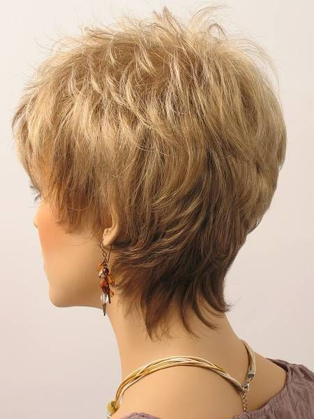 Image Result For Short Haircuts For Women Over 50 Back