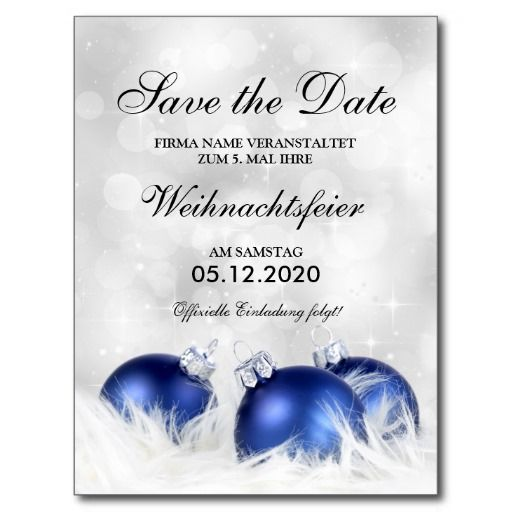 Save The Date Weihnachtsfeier.Invitation Christmas Celebration Collecting Main Zazzle Com