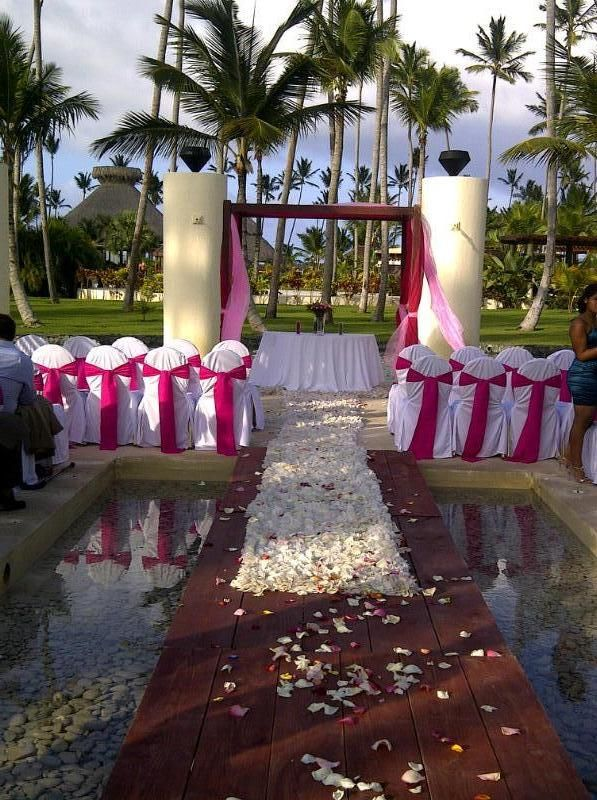 One Of The Places On Resort At Now Larimar 3 To Get Married