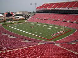 Papa John S Cardinal Stadium After Expansion In 2010 Jpeg University Of Louisville Louisville Football Louisville Cardinals Football