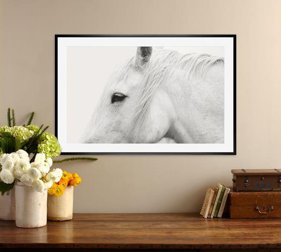 White Horse by Jennifer Meyers, 20 x 16\