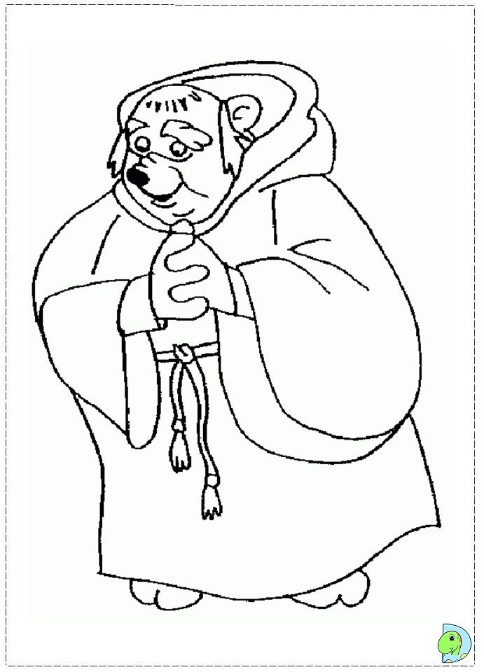 Coloring page Colouring Pages Pinterest Robin hoods
