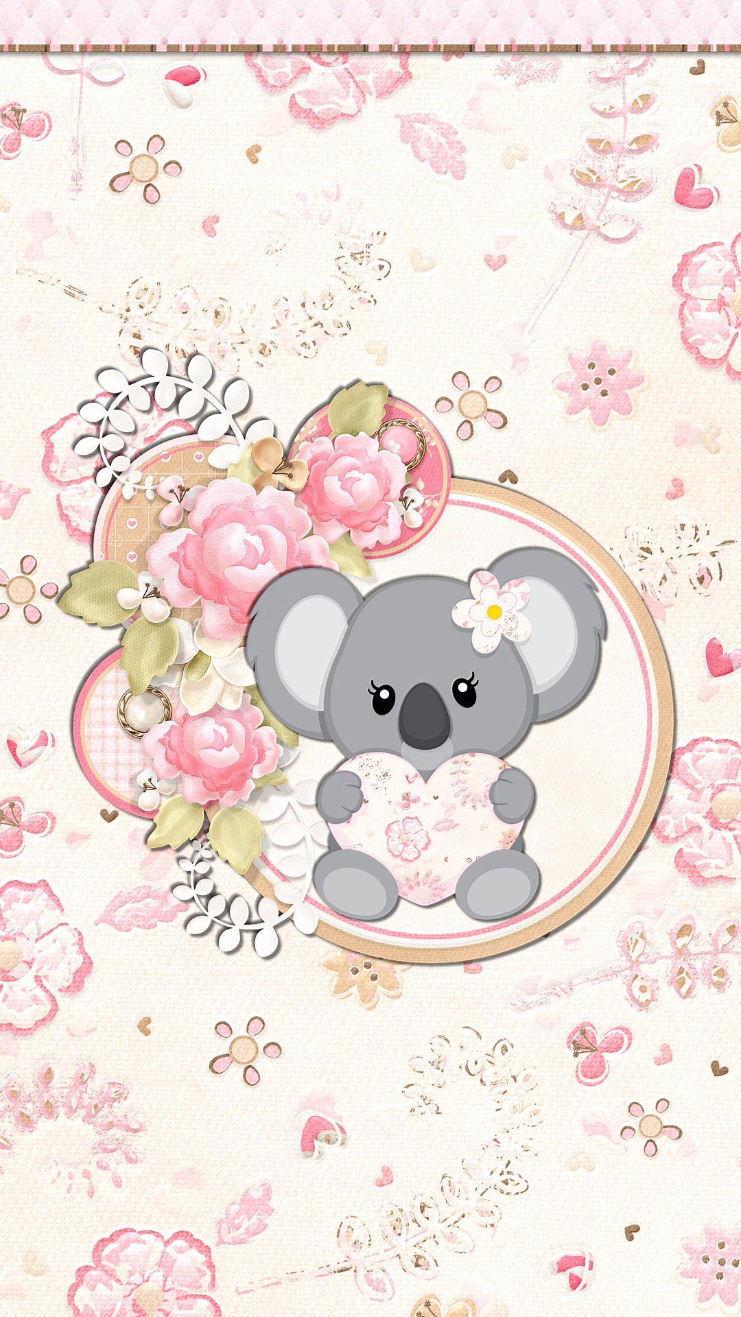 Koala Chic Wallpapers Reeseybelle Wallpaper Iphone Background Wallpaper Cute Wallpapers