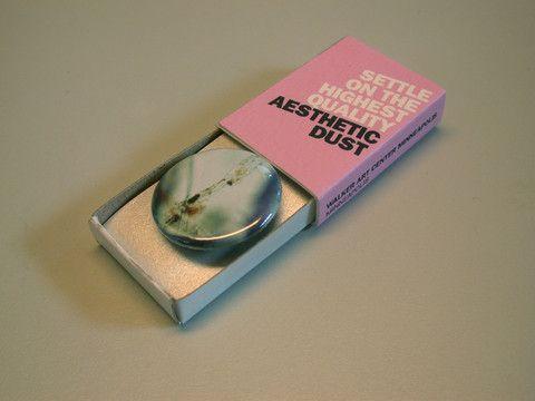 Walker Art Center Dust Collection Button $6.00