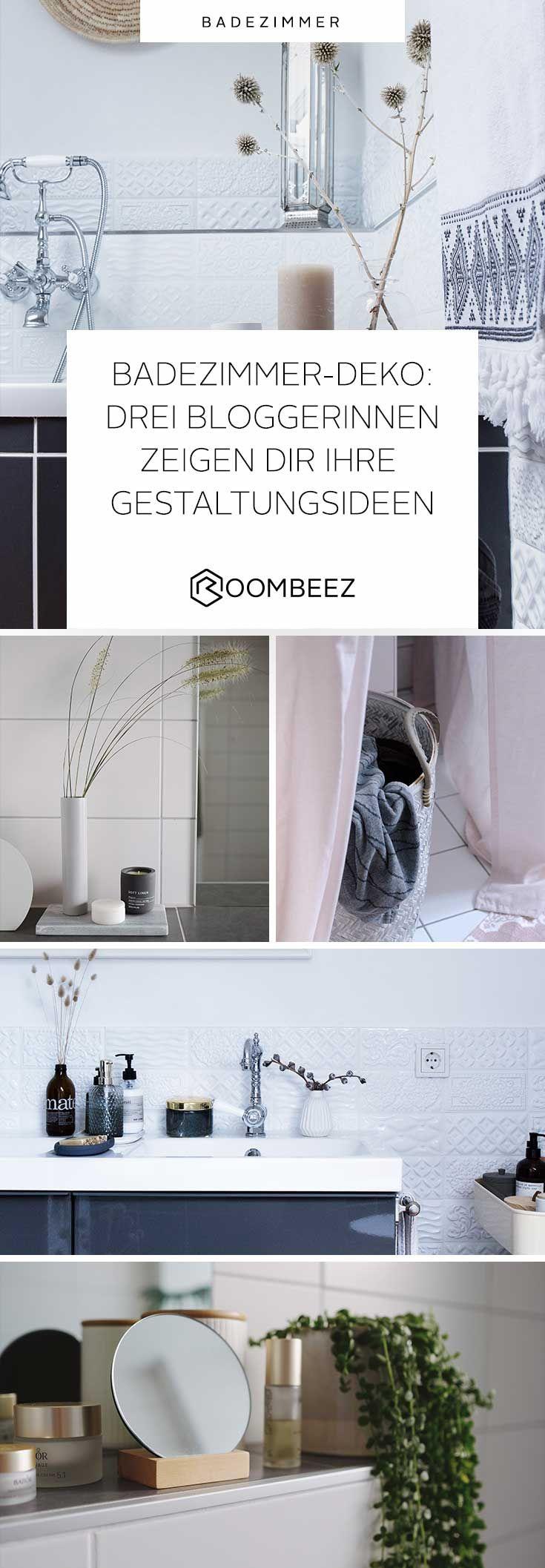Badezimmer ideen große fliesen badezimmerdeko   bloggerinnen geben tipps  badezimmer