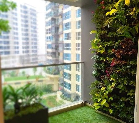 green balcony urbanhomesg Blinds Singapore Urban Home