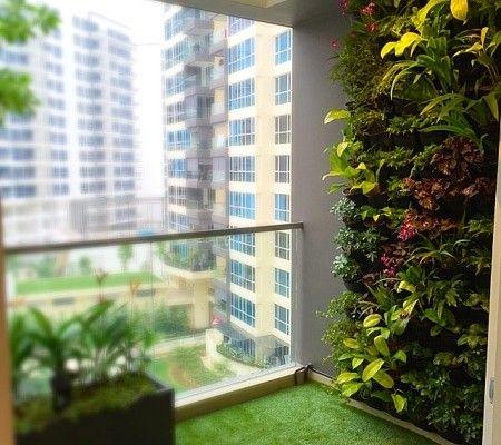 Green balcony for Condo balcony ideas singapore