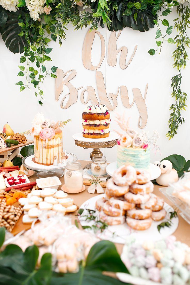 Garden decor for baby shower  Oh Baby Shower  baby shower inspiration in   Pinterest