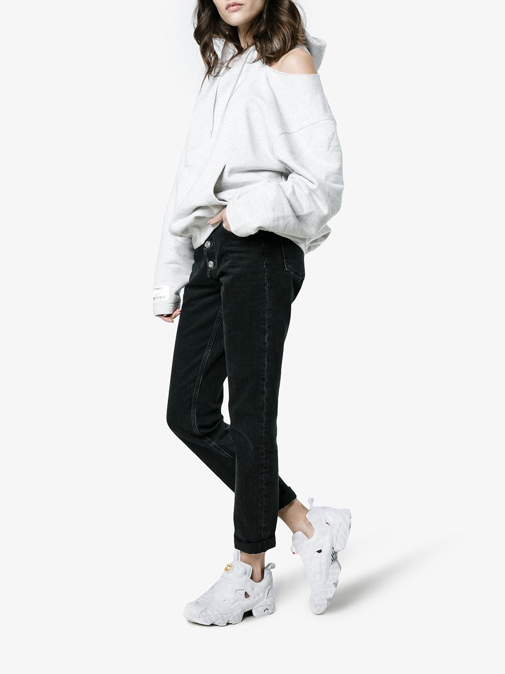Vetements x Reebok Instapump Fury sneakers | Reebok, Fashion