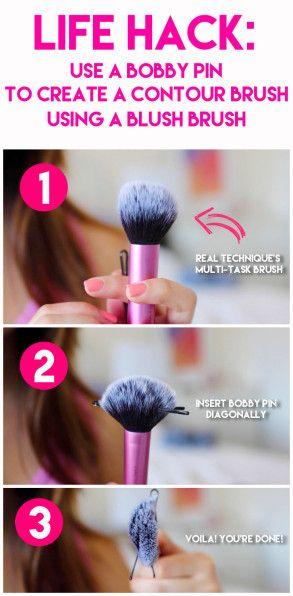 Beauty life hacks EVERY girl should know   Makeup Tips   Makeup Hacks   http://tinkiiboutique.com/