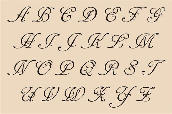Pin On Calligraphy Alphabets Etc