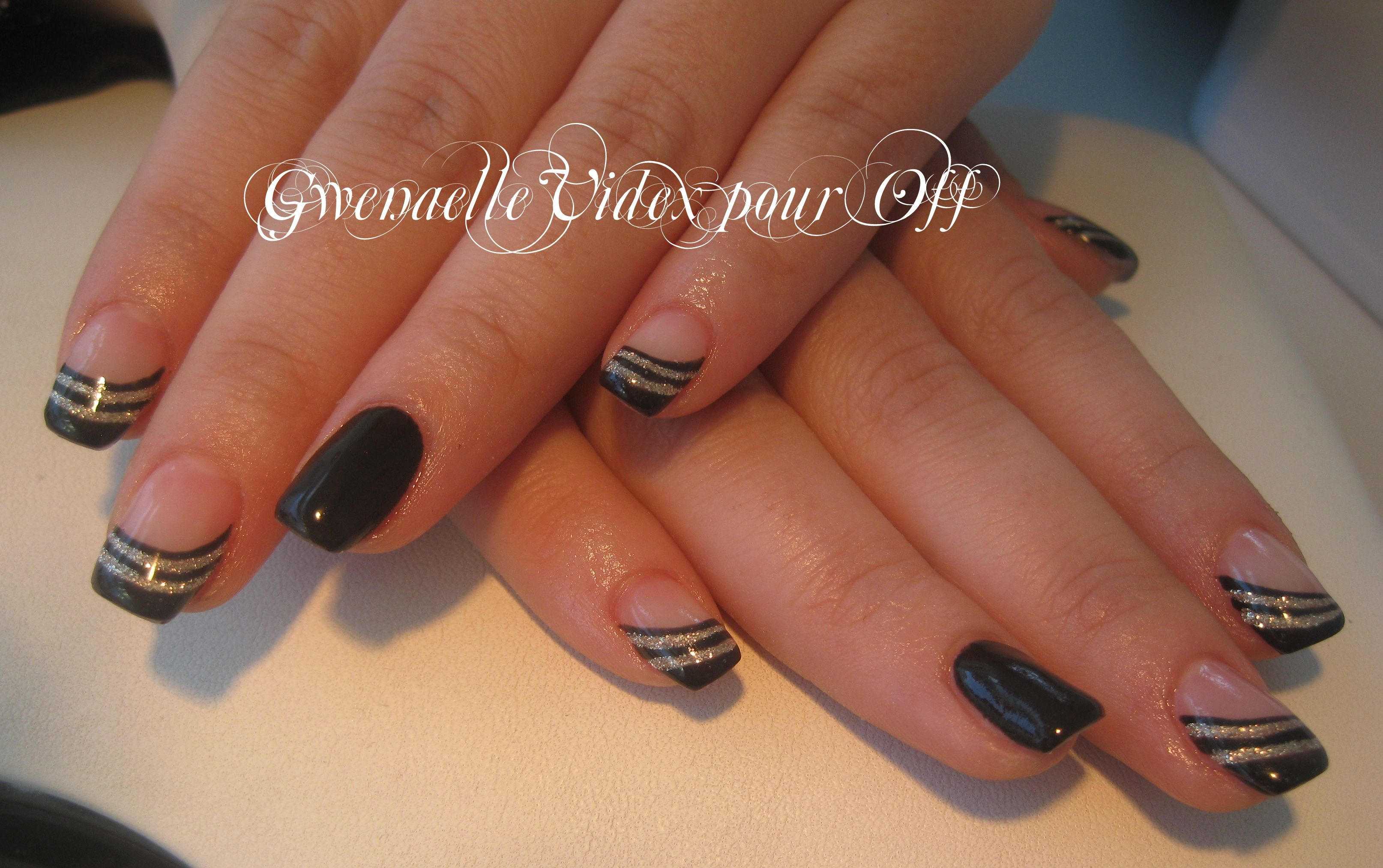 pose en gel sur ongles naturels ongles pinterest