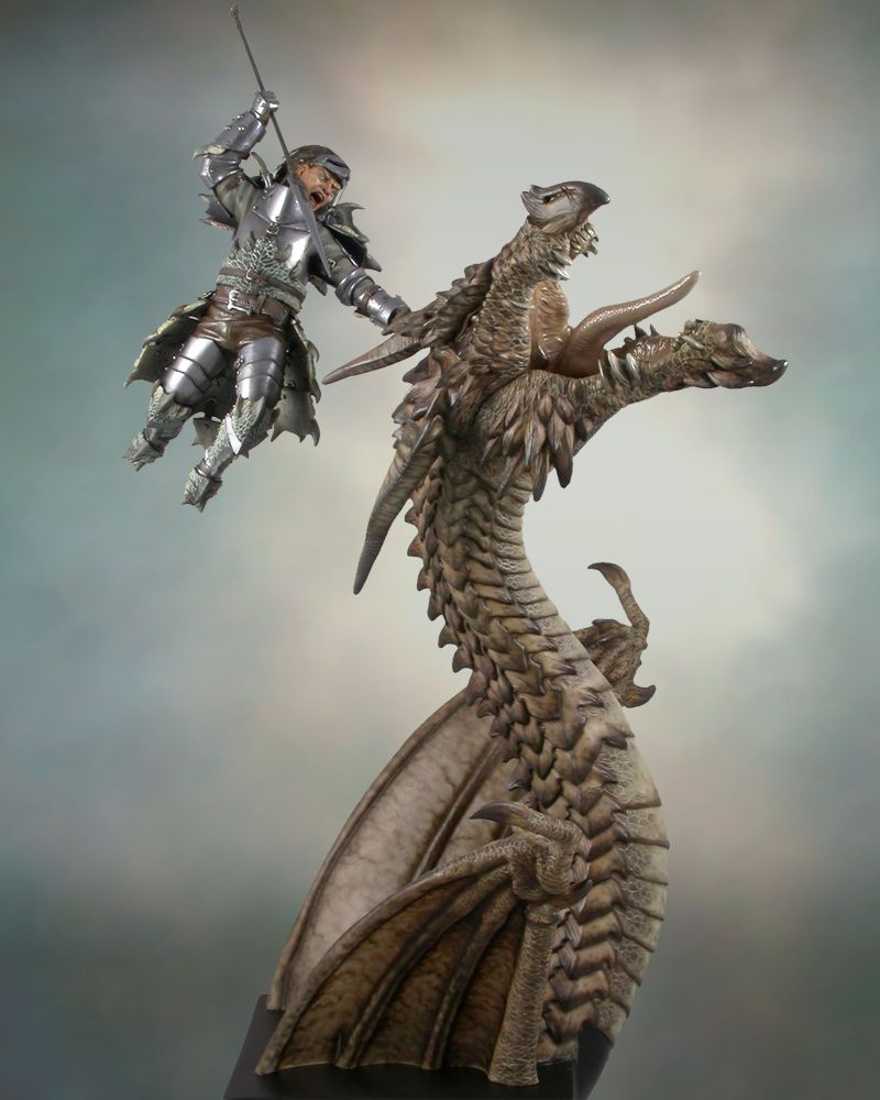 Dragonslayer 1/15 Scale Model