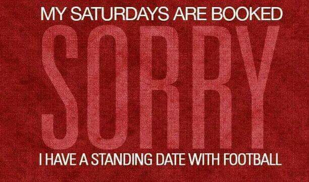 My Saturdays Are Booked