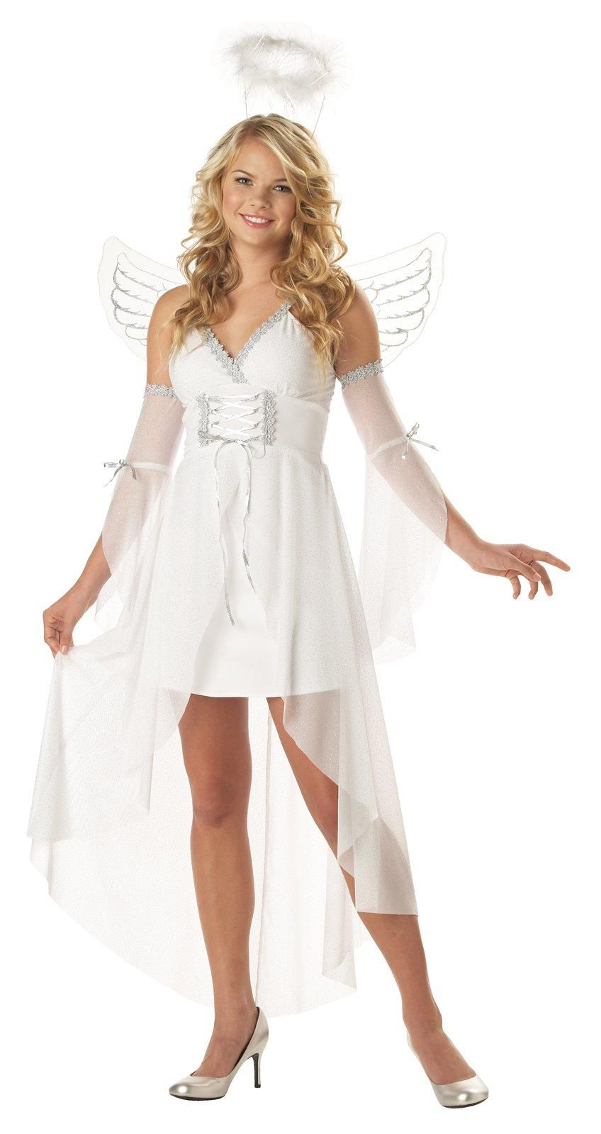 heavens angel adult costume from costumeexpresscom for st jeannie