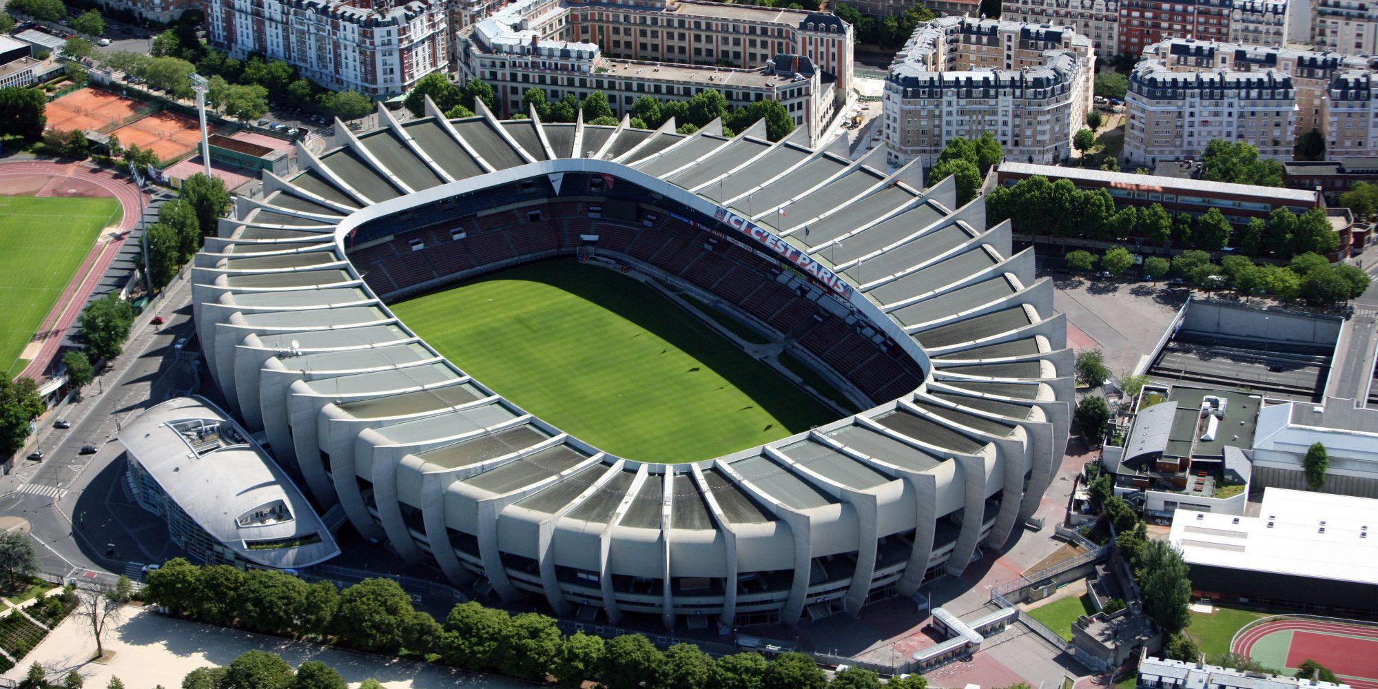 Parc Des Princes Paris St Germain Stadium Architecture Football Stadiums Stadium