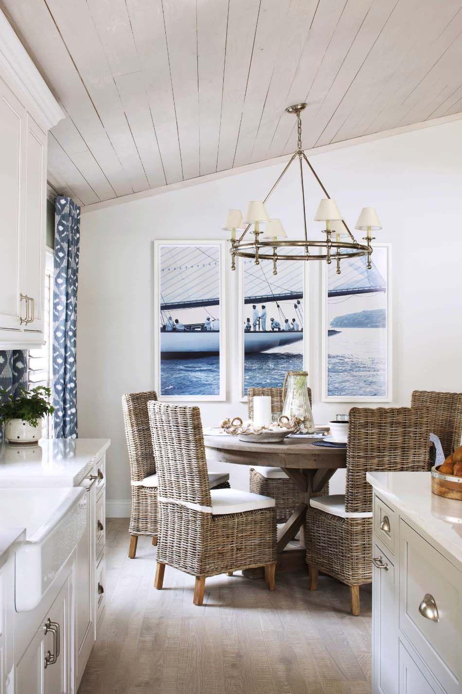 Gemütliches Ferienhaus am Meer bietet luftigen Strand Stil Leben in Florida #strandhuis