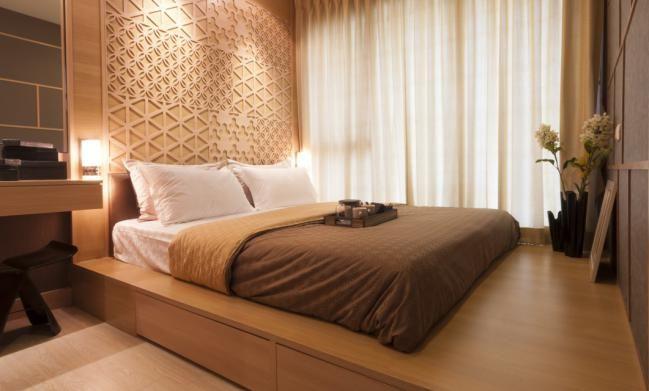 cmo elegir cortinas para un dormitorio de adultos